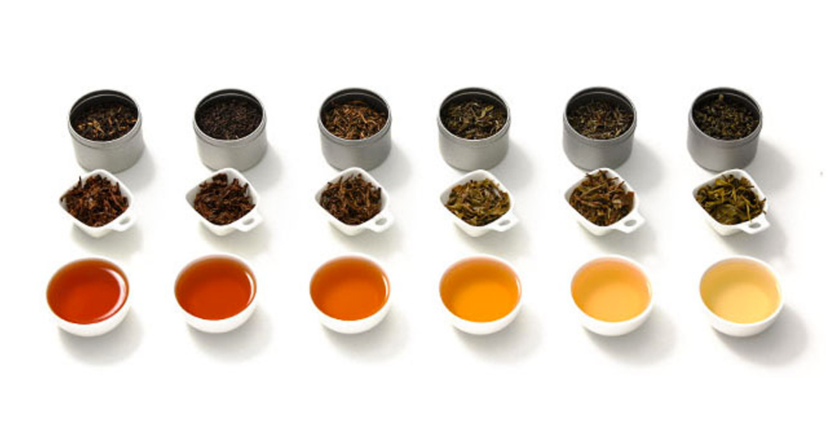 What Are The Most Popular Types Of Tea Green Black